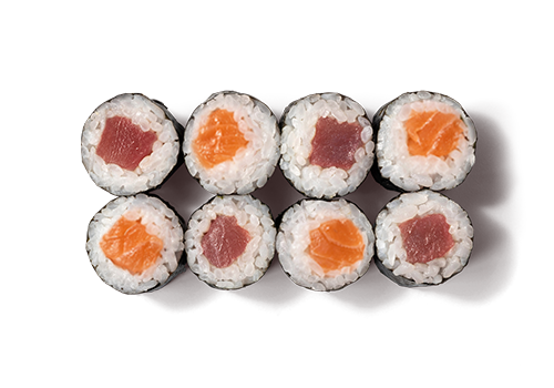 EatHappy - Maki Mix Lachs Thunfisch