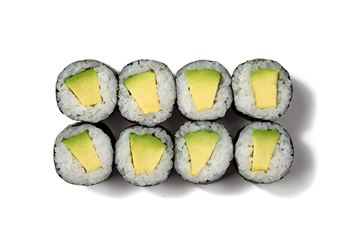 EatHappy - Maki Avocado (vegan)