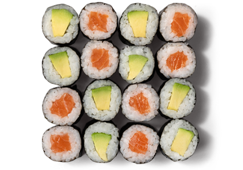 EatHappy - Maki Mix Lachs Avocado Groß