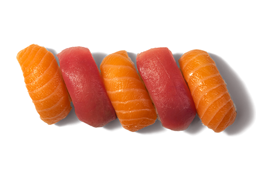 EatHappy - Nigiri Mix Lachs Thunfisch