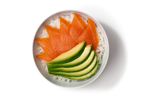 EatHappy - Donburi Lachs Avocado