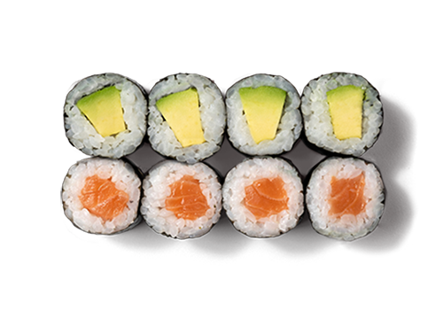 EatHappy - Maki Mix Lachs Avocado