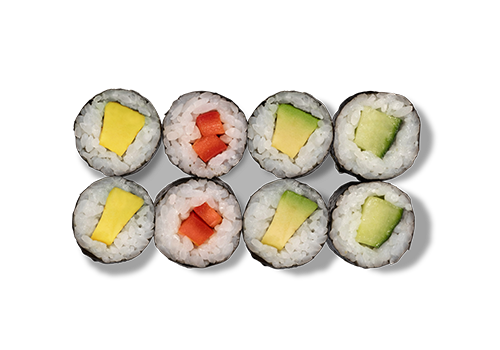 EatHappy - Maki Mix Vegetarisch (vegan)